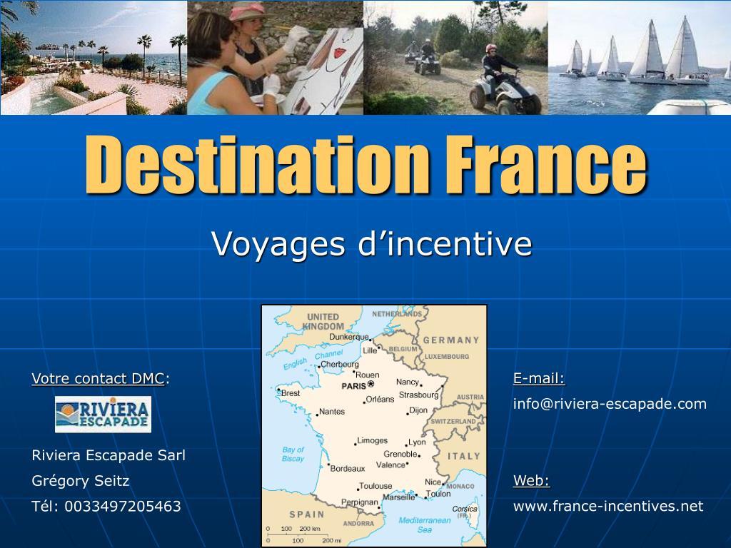 Destination France