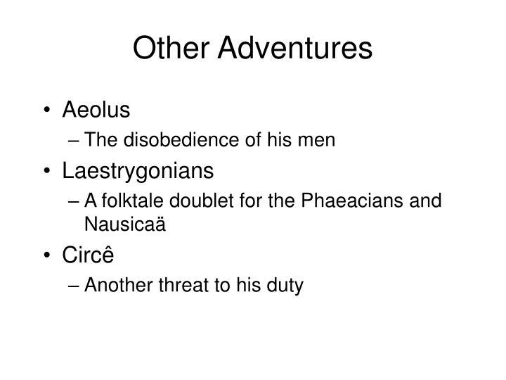 Other Adventures
