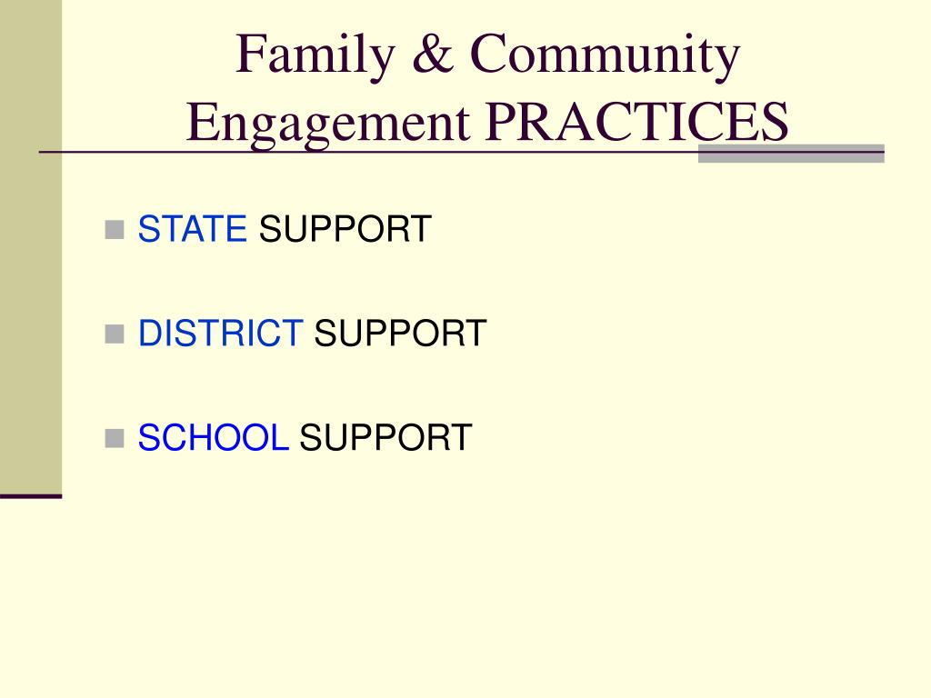 Family & Community