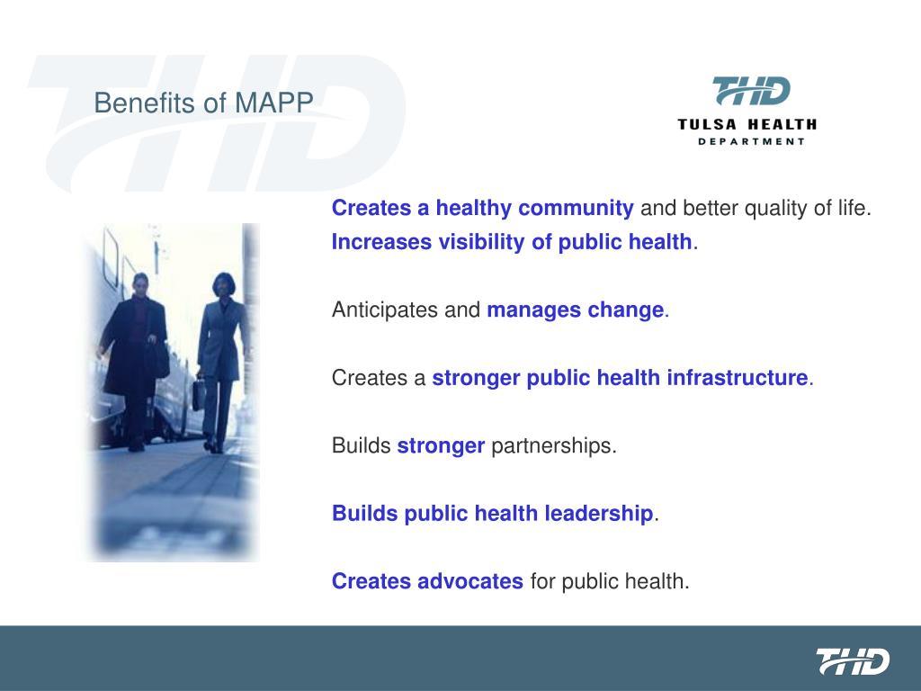 Benefits of MAPP