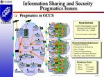 information sharing and security pragmatics issues24
