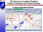 the dynamic coalition problem global command and control system14