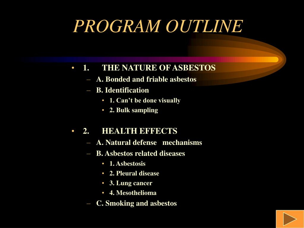 1.THE NATURE OF ASBESTOS