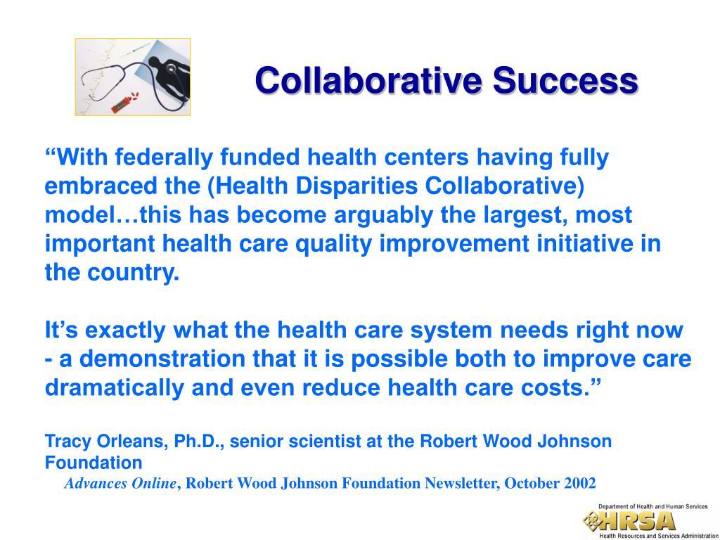 Collaborative Success