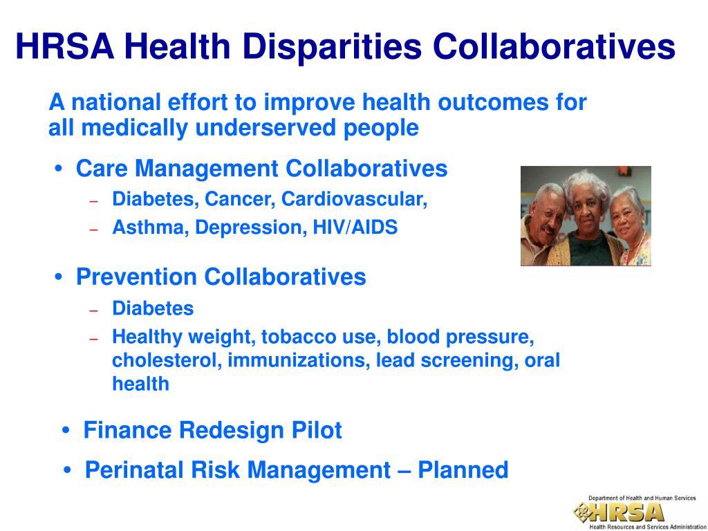 HRSA Health Disparities Collaboratives