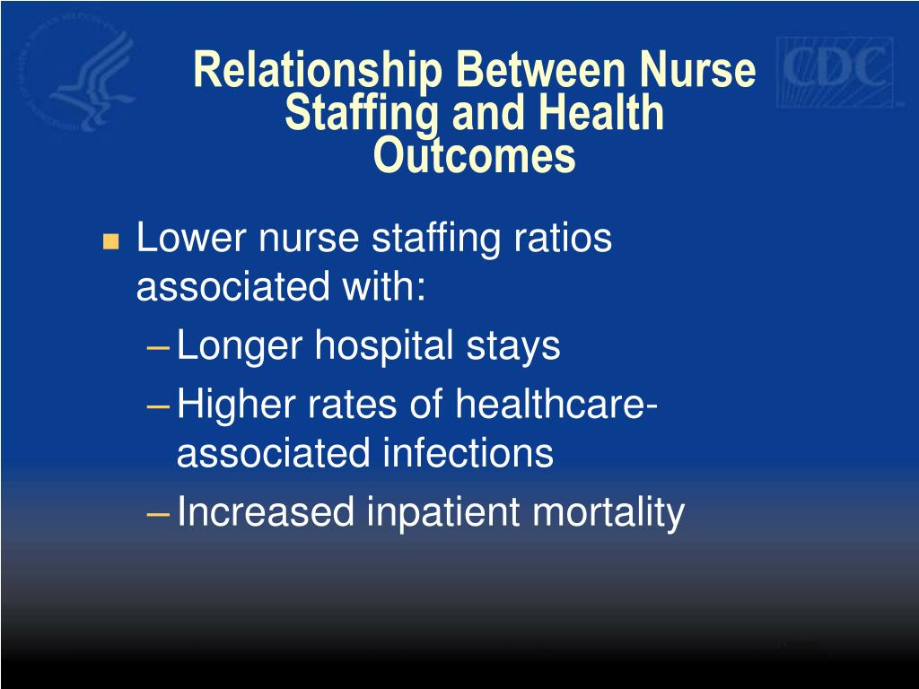 Relationship Between Nurse Staffing and Health Outcomes