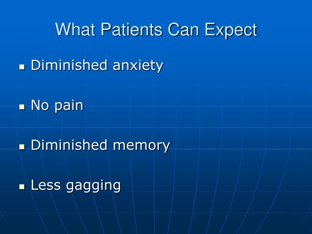 What Patients Can Expect