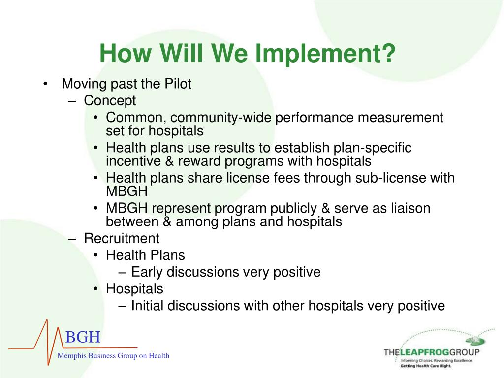 How Will We Implement?