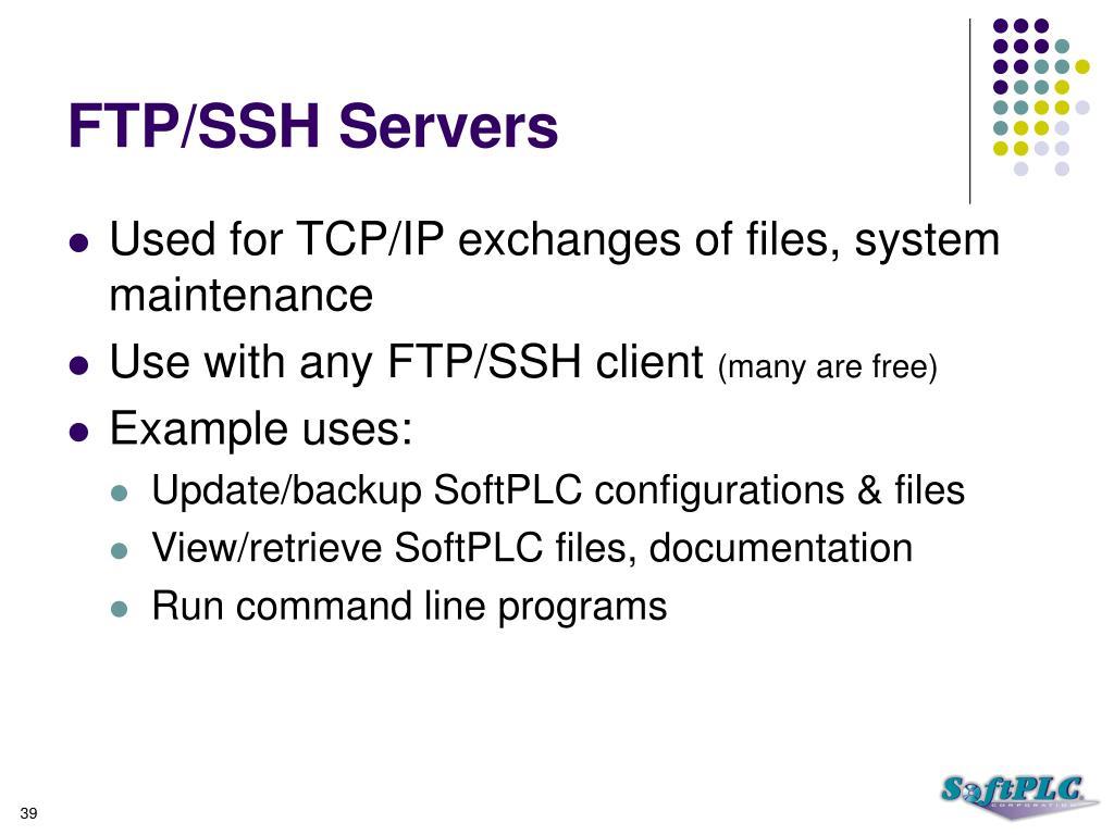 FTP/SSH Servers
