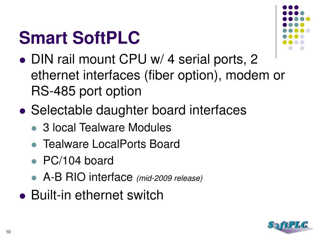 Smart SoftPLC