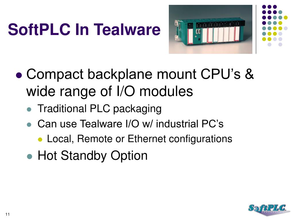 SoftPLC In Tealware