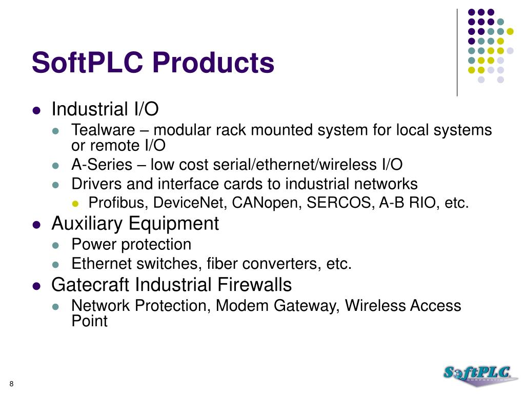SoftPLC Products