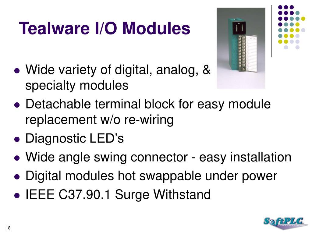 Tealware I/O Modules