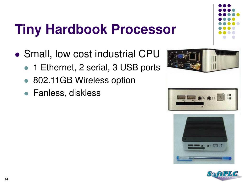 Tiny Hardbook Processor