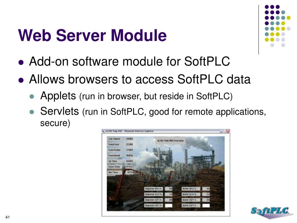 Web Server Module