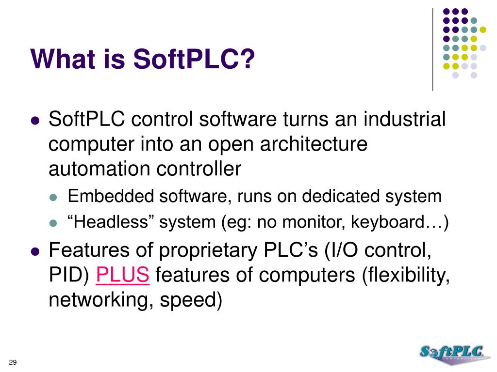 What is SoftPLC?