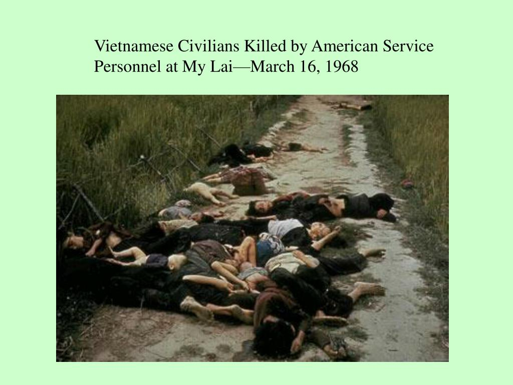 Vietnamese Civilians Killed by American Service