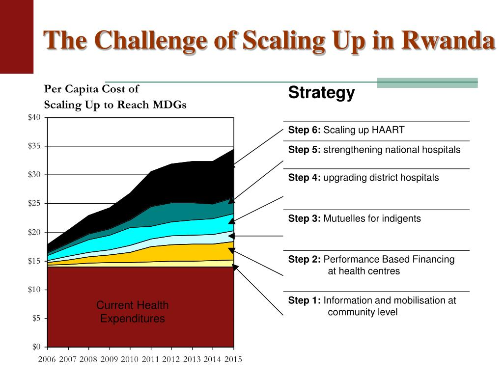The Challenge of Scaling Up in Rwanda
