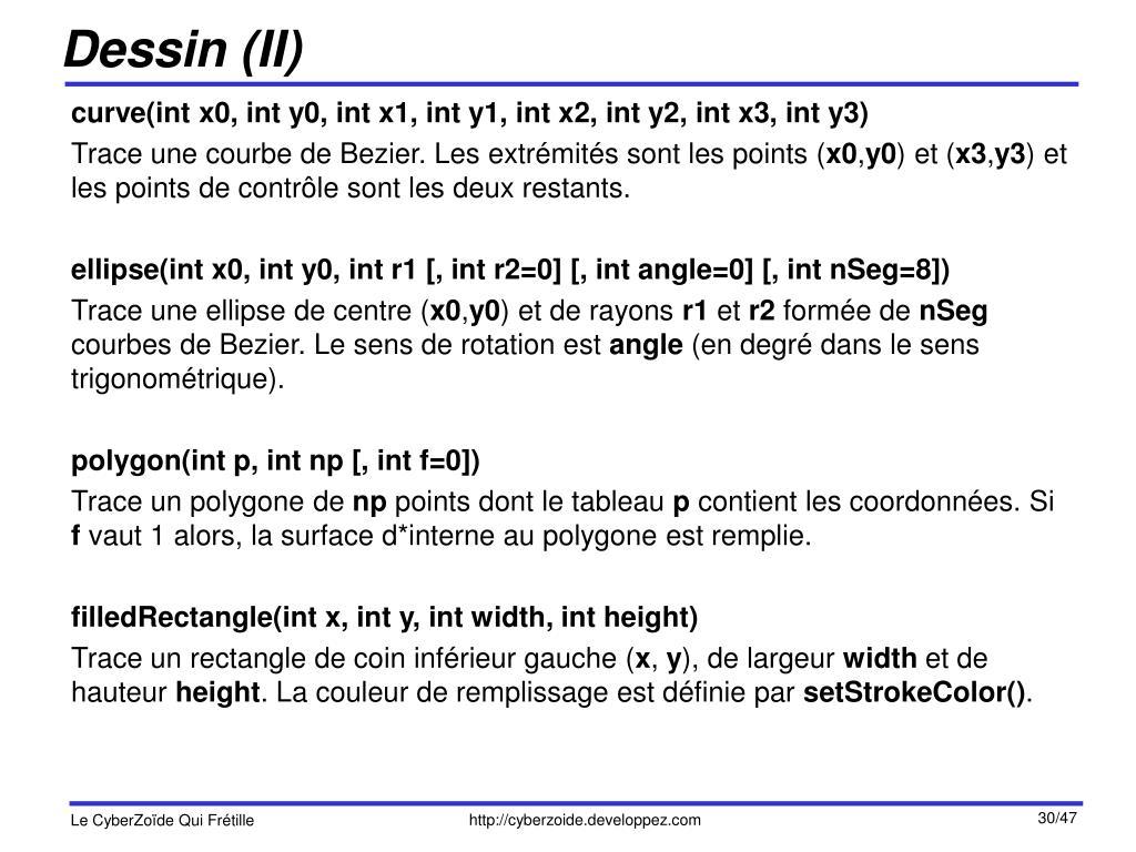 Dessin (II)
