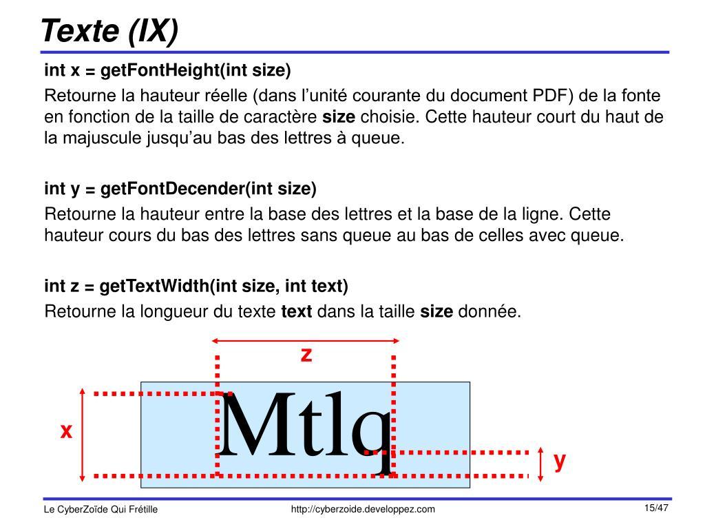 Texte (IX)