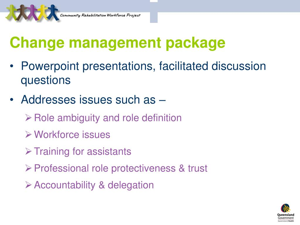 Change management package