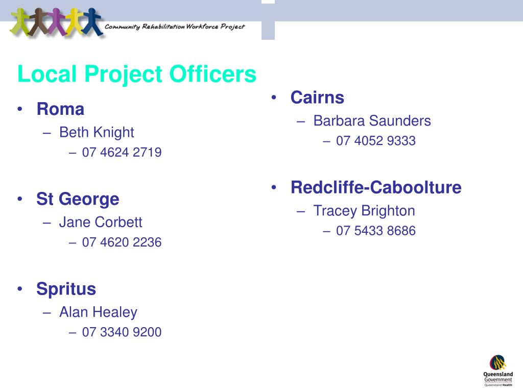 Local Project Officers