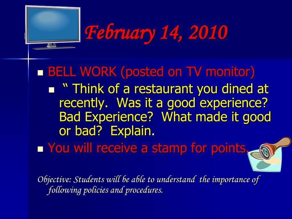 February 14, 2010