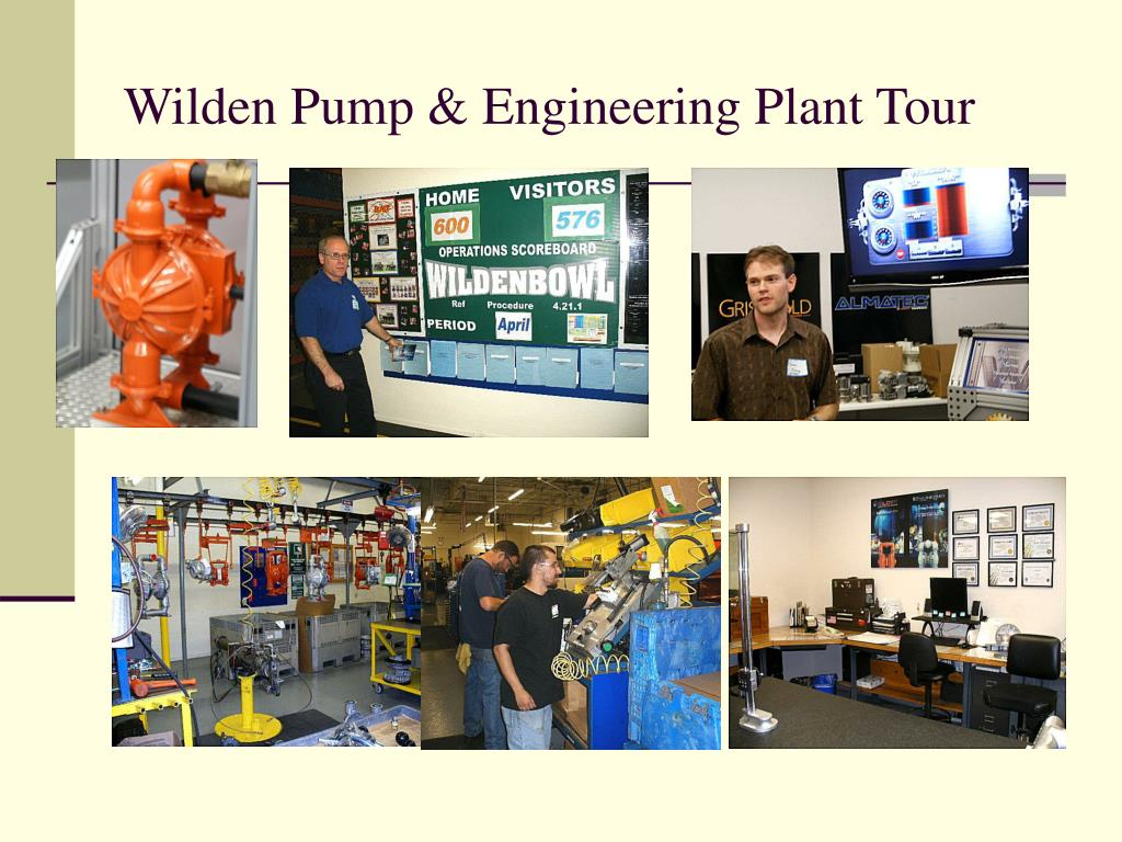 Wilden Pump & Engineering Plant Tour