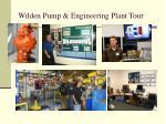 wilden pump engineering plant tour