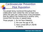 cardiovascular prevention pilot population