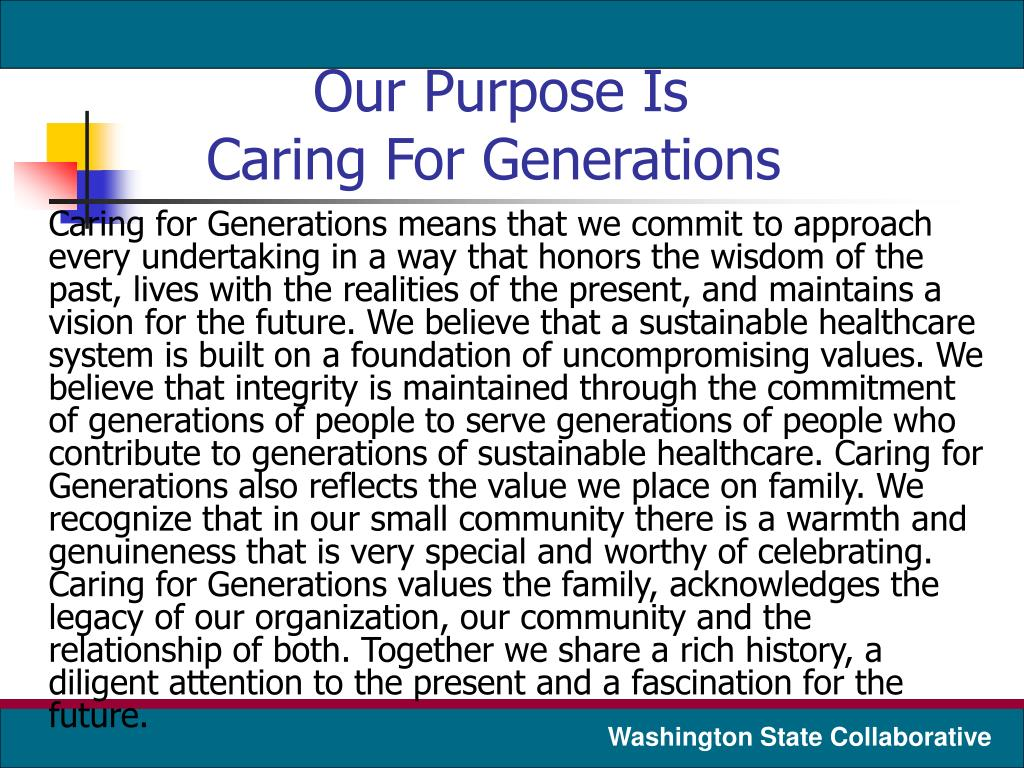 Our Purpose Is