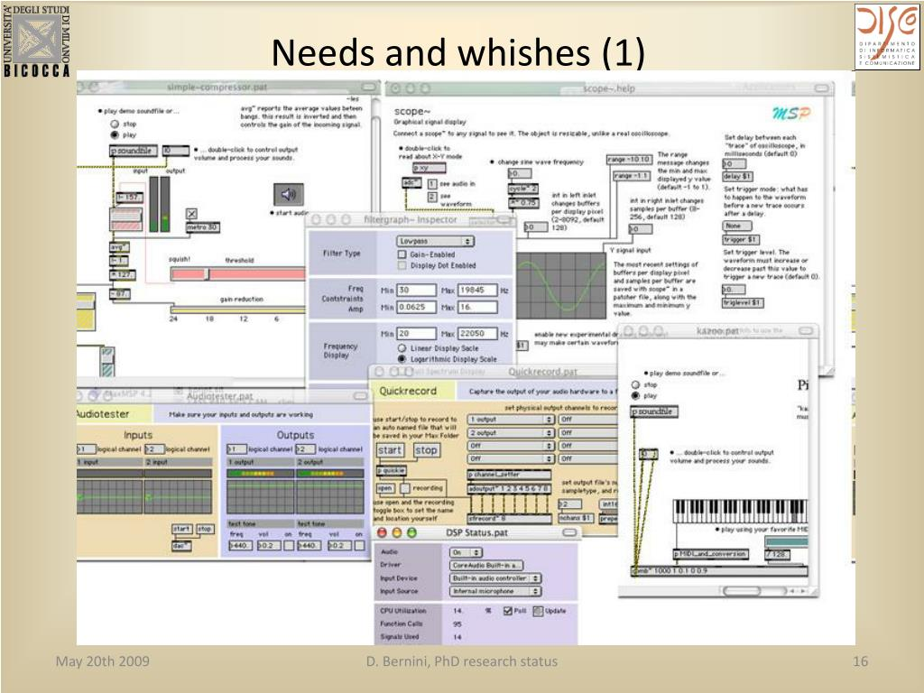 Needs and whishes (1)