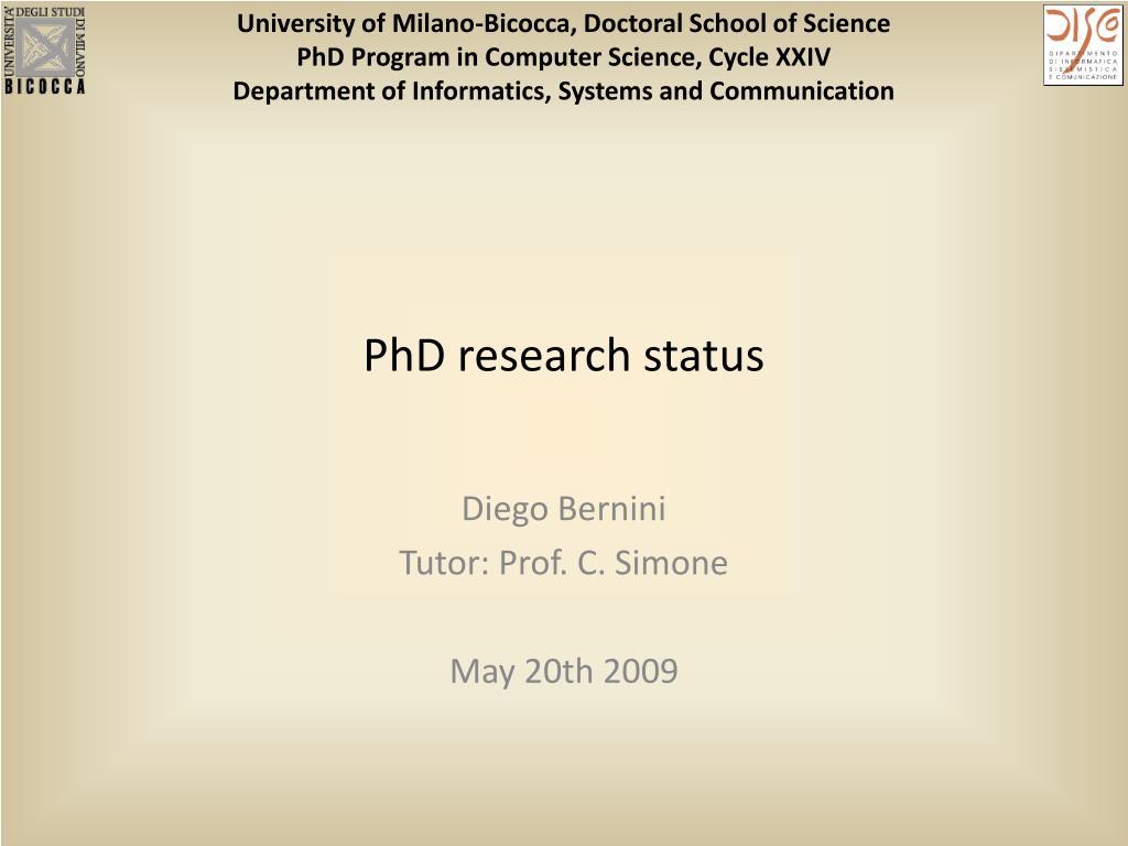 University of Milano-Bicocca,