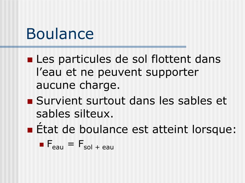 Boulance