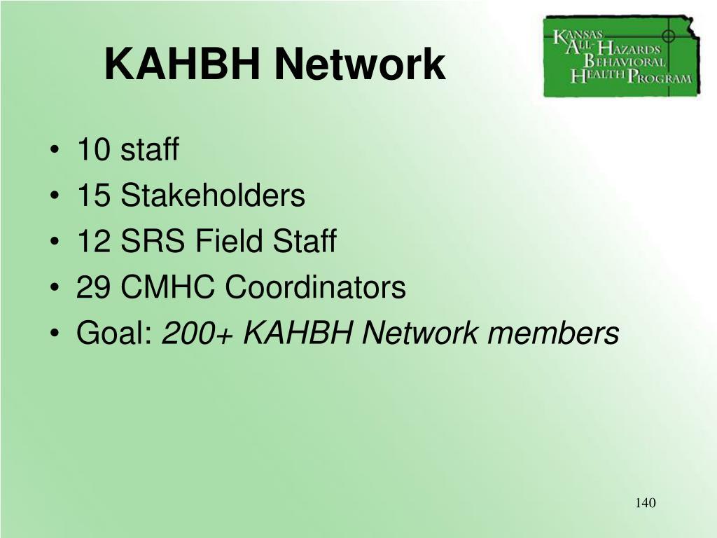 KAHBH Network