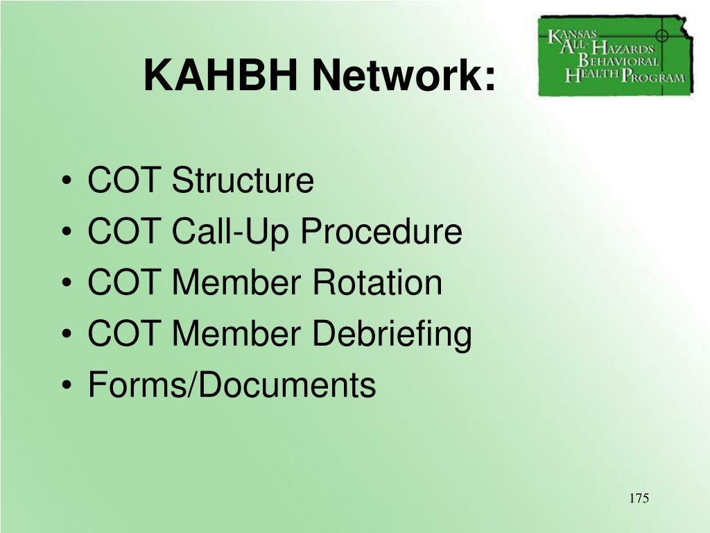 KAHBH Network: