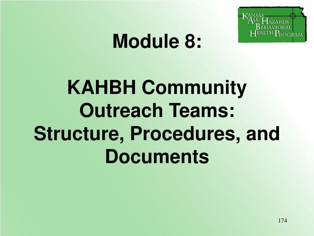 Module 8: