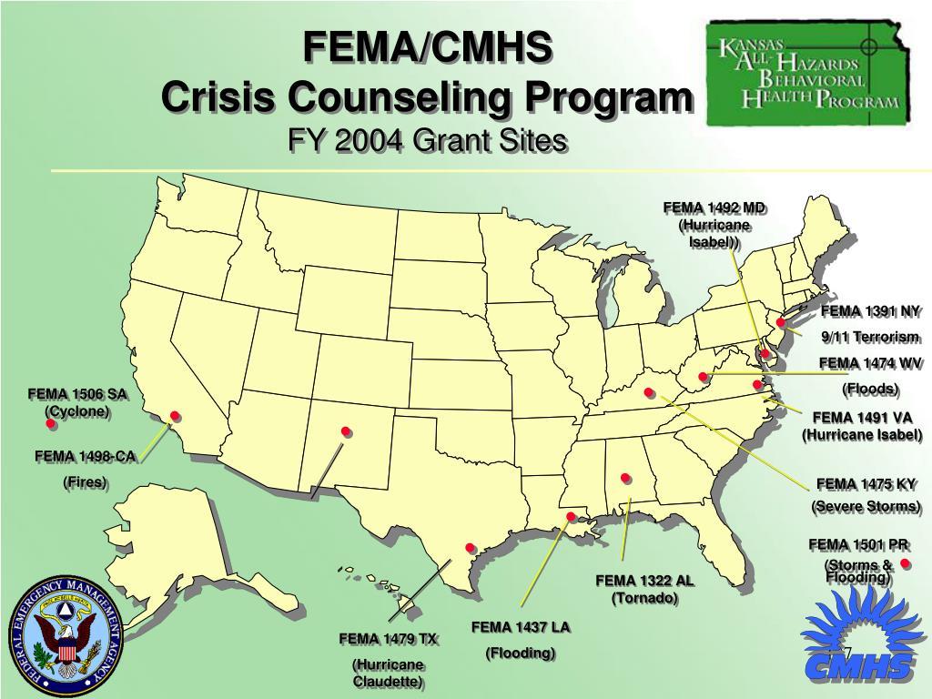 FEMA/CMHS