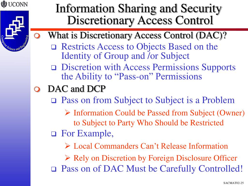 Information Sharing and Security