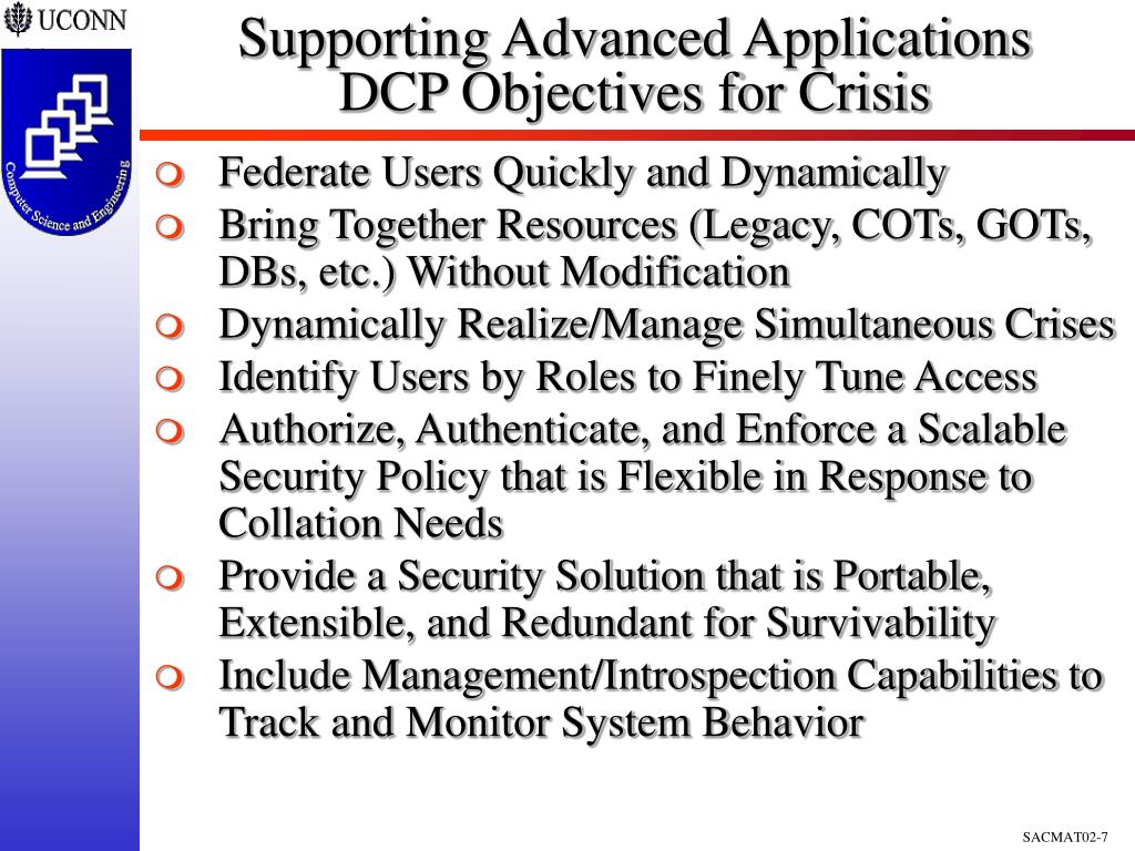 Supporting Advanced Applications