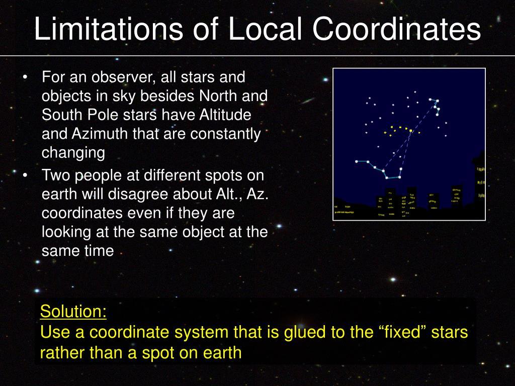 Limitations of Local Coordinates