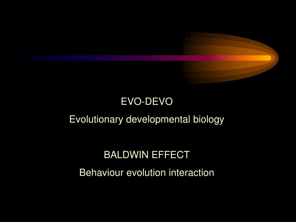 EVO-DEVO