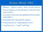 barmin melnik 2002