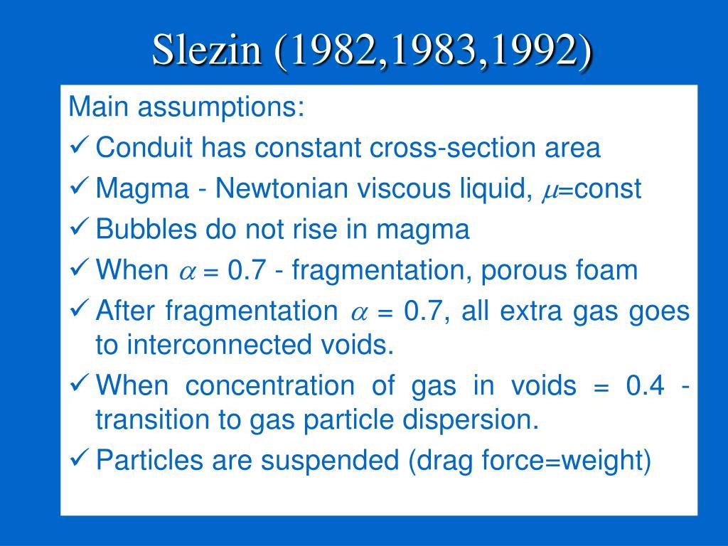 Slezin (1982,1983,1992)