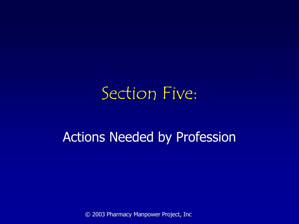 Section Five: