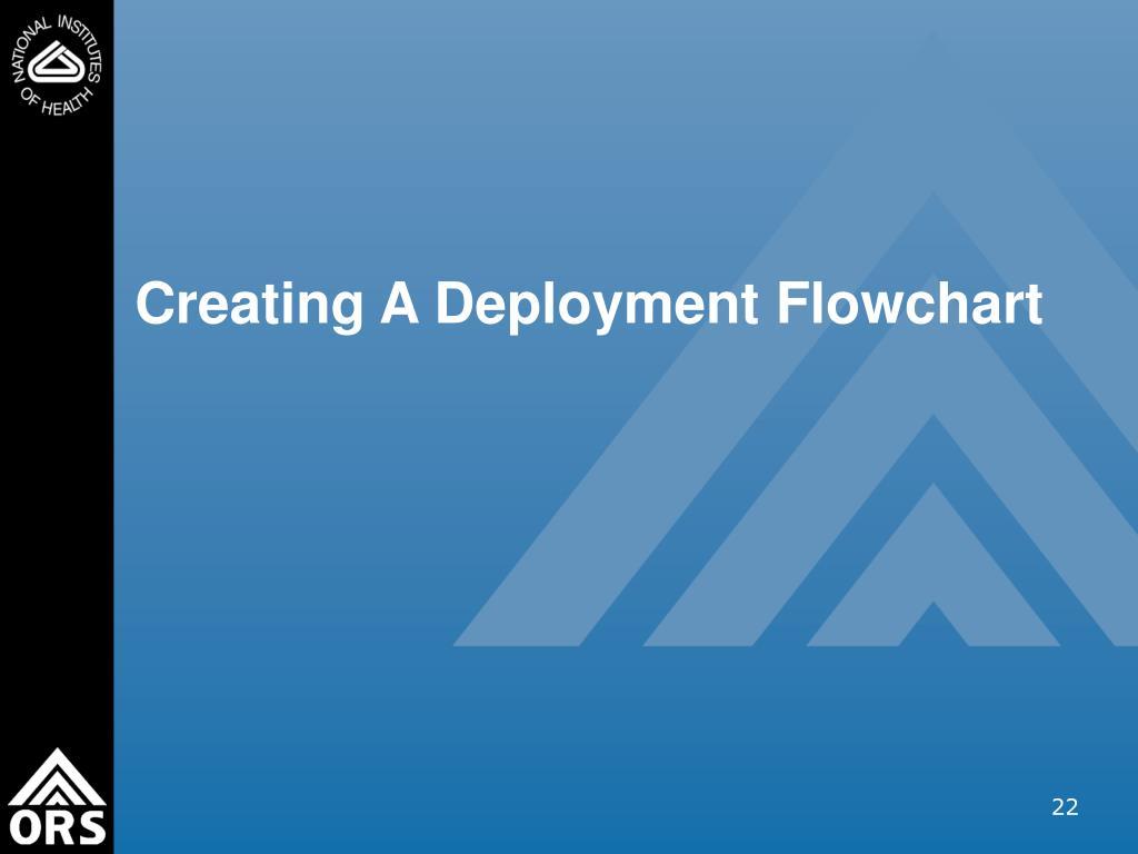 Creating A Deployment Flowchart