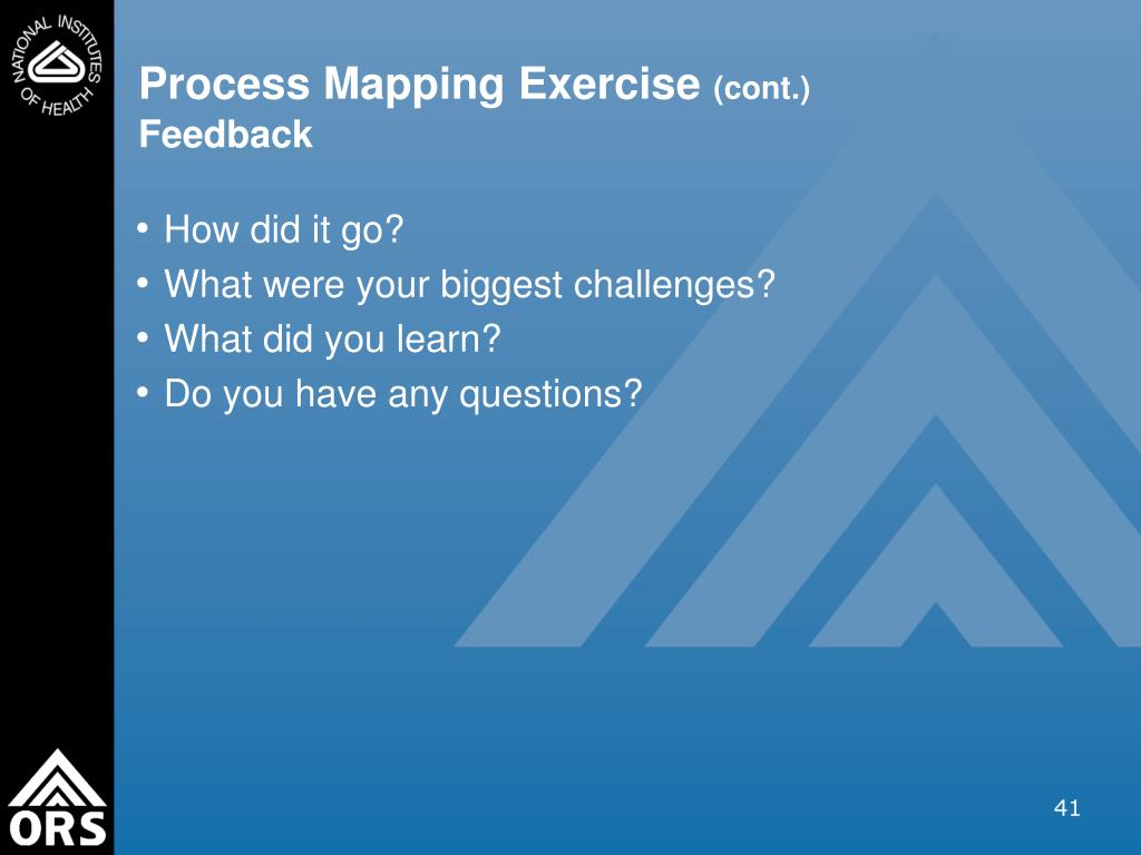 Process Mapping Exercise