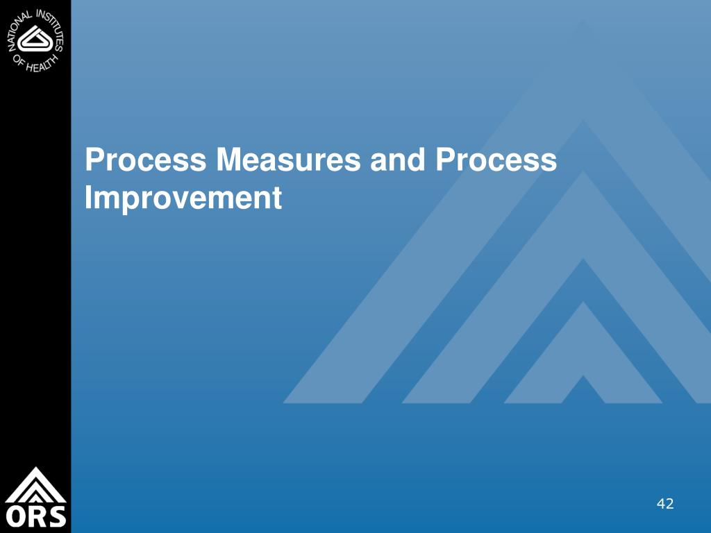 Process Measures and Process Improvement
