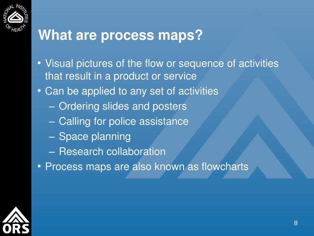 What are process maps?