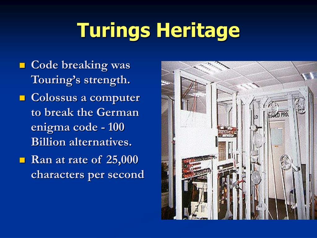Turings Heritage